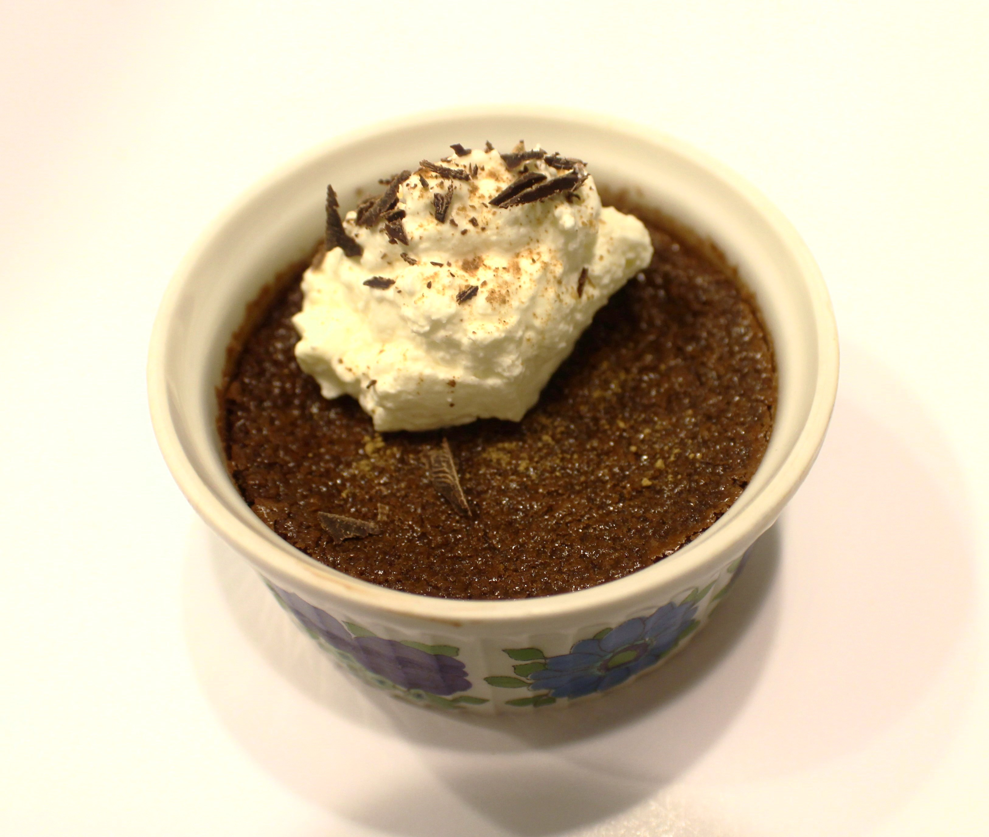 Mexican-inspired chocolate baked custards.