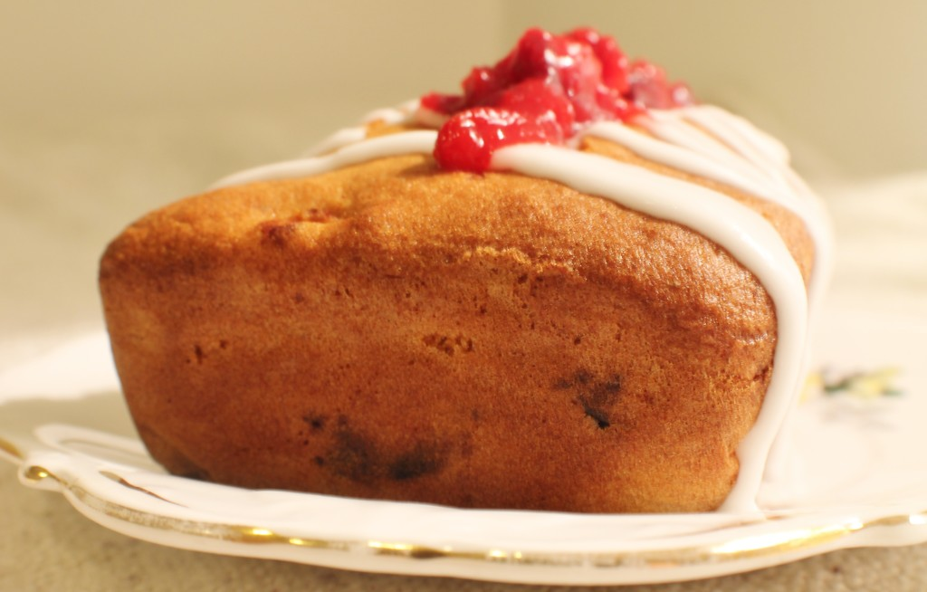 Gluten free Orange and Cranberry Cake