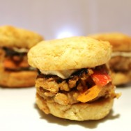 BBQ veggie mini-burgers for #SundaySupper