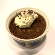 Dark and Spicy Chocolate Pots de Creme for #SundaySupper