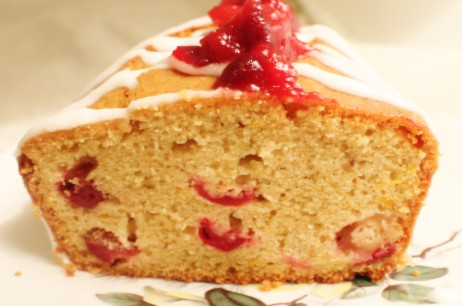 Christmas with a Twist: Cranberry and Orange Cake
