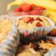 Healthy Grab 'n' Go Breakfast Muffins for #SundaySupper