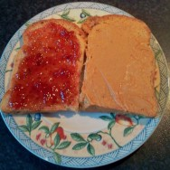 My First Ever Peanut Butter and Jelly Sandwich
